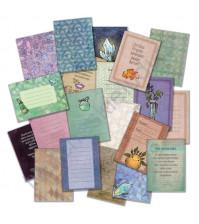 Набор карточек для журналинга Алхимия, плотность 190 гр/м, 20 штук