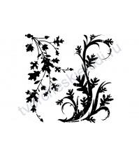 Набор штампов Fall Flourish, размер набора штампов 6х6 см