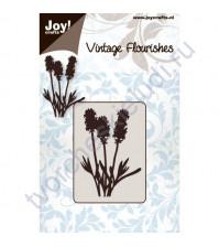 Нож для вырубки и тиснения Flowers and leaves-3, Цветы и листья-3