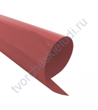 Термотрансферная пленка, цвет зимняя брусника,металлик, 25х25см, SC101031