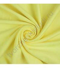 Искусственная замша двусторонняя, плотность 310 г/м2, размер 50х59 см (+/- 2см), цвет лимонный желтый