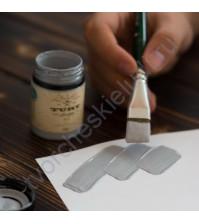 Краска акриловая Tury Design Di-7 на водной основе, флакон 60 гр, цвет Туманный серый