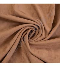 Искусственная замша двусторонняя, плотность 310 г/м2, размер 50х37 см (+/- 2см), цвет пралине