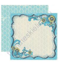 Бумага для скрапбукинга двусторонняя коллекция Favorite, 30.5х30.5 см, 220 гр/м, лист Memorable