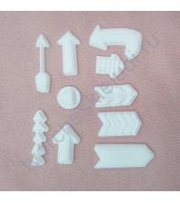 Набор пластиковых фигурок Стрелки, 10 элементов