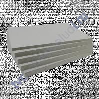 Переплетный картон (чипборд) двусторонний, 10х30 см, толщ 1 мм