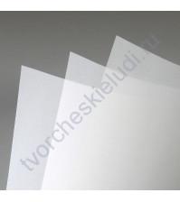 Калька (веллум) 30х30 см, 200 гр/м, цвет белый, 1 лист
