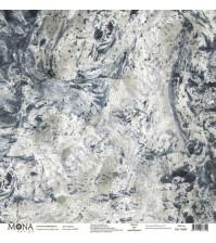 Бумага для скрапбукинга односторонняя Hipster, 30.5х30.5 см, 190 гр/м, лист Мрамор