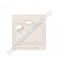Чипборд коллекция Прогулка по Европе, 7х9 см