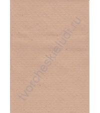 Лист бумаги для скрапбукинга с эмбоссированием (тиснением) Точки, А4, 130 гр, цвет крафт