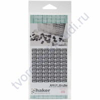 Набор металлического декора для шейкера Its a Boy, 5х8 мм, 88 шт