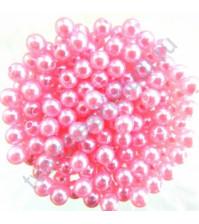 Пластиковые бусины Colibry 8 мм, цвет 5206 (розовый перламутровый)