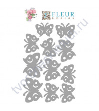 Набор чипборда коллекция Бабочки-2, размер 10х15 см