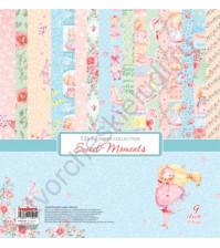 Набор двусторонней бумаги Маленькая принцесса, 30.5х30.5 см, 190 г/м, 9 листов