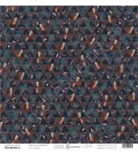 Бумага для скрапбукинга односторонняя, коллекция Бумажные птицы, 30.5х30.5 см, 190 гр\м2, лист Пташки