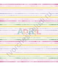 Бумага для скрапбукинга односторонняя Пиономания, 30.5х30.5 см, 190 гр/м, лист Цветные чудеса