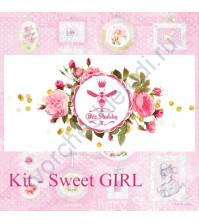 Bee Shabby KIT - Sweet GIRL