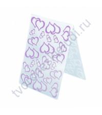 Папка для эмбоссинга Сердечность, А6