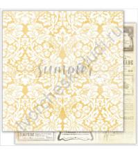 Бумага для скрапбукинга двусторонняя 30.5х30.5 см, 190 гр/м, коллекция My autumn, лист Melody