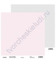 Бумага для скрапбукинга двусторонняя, коллекция Нежный шик, 30х30 см, 250 гр/м2, лист 4