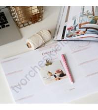 Настольный ежедневник-планер Нежный персик, формат А3, цвет персиковый, 56 листов