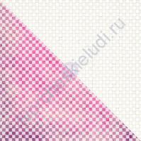 Холст с резист эффектом Checker Pattern (шашки), 30.5х30.5 см