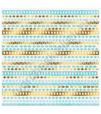 Бумага для скрапбукинга односторонняя с фольгированием золотом 30.5х30.5 см, 180 гр/м2, лист Счастливые мгновения