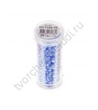 Рубка с круглым отверстием с эффектом бензина, 20 гр, цвет 1166 (сиреневый)