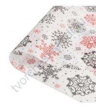 Бумага упаковочная тишью Яркого праздника, размер 50х70 см