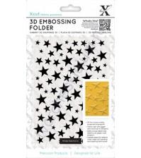 Папка для эмбоссинга Звезды, А6