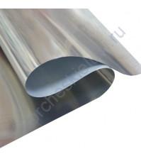 Термотрансферная пленка металлик, цвет серебро, 25х25 см (+/- 2 см)