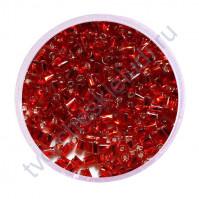 Рубка с круглым посеребренным отверстием, 20 гр, цвет 25-красный