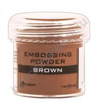 Пудра для эмбоссинга Antiquities (матовая, под камень), емкость 30 мл, цвет коричневый