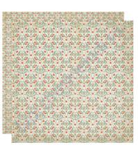 Бумага для скрапбукинга двусторонняя коллекция Harmony, 30.5х30.5 см, 220 гр/м, лист Beauty