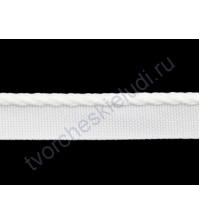 Лента каптальная (каптал), ширина 12 мм, цвет белый, 1 метр