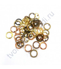 Набор брадсов Gromlets, 48 шт, 11 мм, цвет warm metals