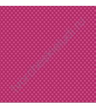 Кардсток односторонний текстурированный Точки, 30.5х30.5 см, 216 гр/м, цвет яркий розовый