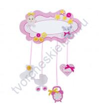 Набор для скрапбукинга Метрика малыша Розовые сны