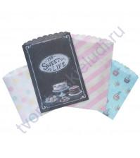 Набор декоративных конвертов-кармашков Treat Bag, 4 элемента