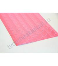 Уголки клеящиеся для фотографий пластиковые, 11х11 мм, 102 шт., цвет прозрачный на розовой основе