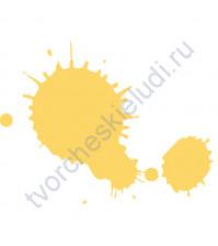 Штемпельная подушечка быстросохнущая, 3.5х2.5 см, цвет Одуванчик