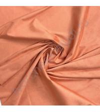 Искусственная замша двусторонняя Premium, плотность 340 г/м2, размер 50х35 см (+/- 2см), цвет оранжевый коралл