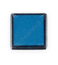 Штемпельная подушечка на водной основе 25х25 мм, цвет голубой