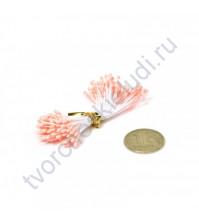 Тычинки двусторонние, пучок 86 шт, цвет персиковый
