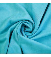 Искусственная замша Suede, плотность 230 г/м2, размер 50х35 см (+/- 2см), цвет бассейн
