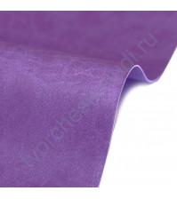 Кожзам переплетный на полиуретановой основе плотность 230 гр/м2, 50х70 см, цвет 4864-фиолетовый