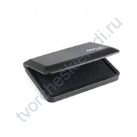 Штемпельная подушечка Micro-1, 50х90 мм, цвет черный