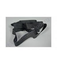 Лент шелковая ширина 13 мм, 1 метр, цвет черный