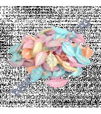 Листья розы без стебельков 4.5 см, цвет Осенний микс, 10 шт.