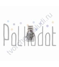 Перламутровая пудра, 15 мл, цвет античное серебро